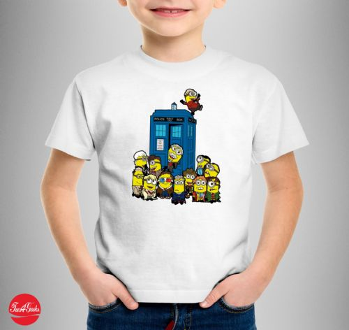 Doctor who Minions T-shirt